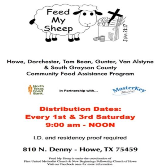 Sermon Feed My Sheep: Feed My Sheep Food Pantry News: February 2017 » First